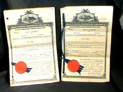 U.S. petition for letters of patent for Disk Colter 1914 w/drawing/description
