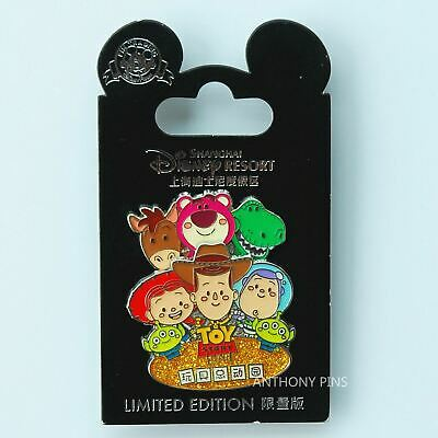 Shanghai Disney Pin SHDL Toy Story Woody Buzz Lightyear LE Grand Opening New