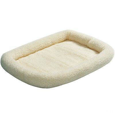 MidWest Deluxe Bolster Pet Bed for Dogs & Cats Soft and Washable