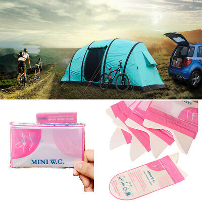 1/4x Disposable Urine Bag Child Adult Unisex Toilet Outdoor Travel Emergency