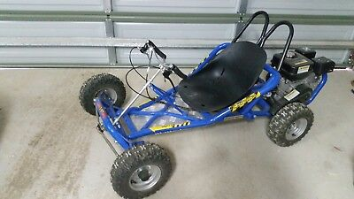 6.5hp Offroad Petrol Go kart With 2 Spare Wheels