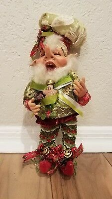 collectible Mark Roberts gingerbread maker elf size small