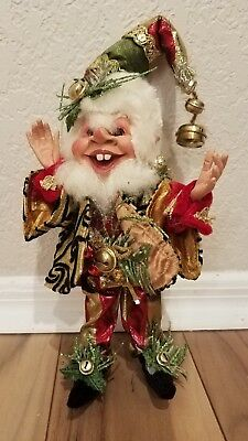 collectible Mark Roberts Jingle Bell elf size small