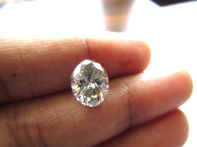 2.77CTW 10.5mm Oval Cut GH/VS2 Colorless Moissanite Diamond Loose MM140/17