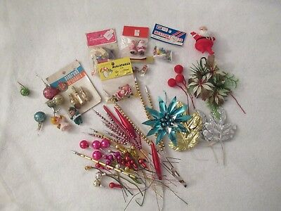 Vintage Lot of Christmas Craft Supplies (see pictures)