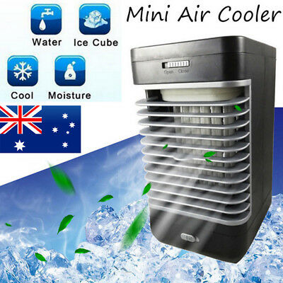 Portable Air Conditioner Fan Humidifier Cooler Conditioning Fan Cooling Home AU