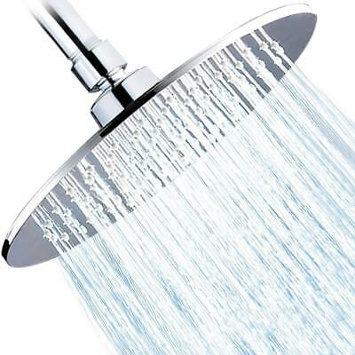 Albustar Rainfall Shower Head, Luxury High Pressure Spa, Polished Chrome Large
