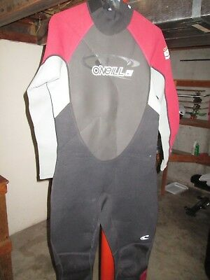 ec8a4d77b3 O Neill Wetsuit Mens 3 2mm Reactor Full Suit Size XL 2355 Oneill Swim