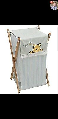 Winnie The Pooh Baby Clothes Hamper COVER ONLY (Nursery)