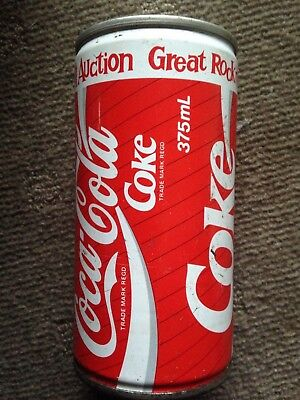 Great Rock and Roll Auction Coke Can