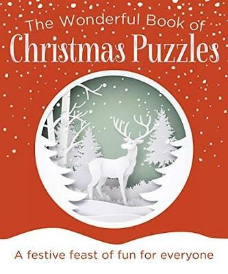 Wonderful Book of Christmas Puzzl by Eric Saunders New Paperback / softback Book