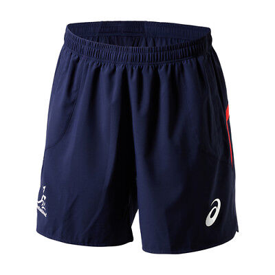 NEW Wallabies Australia  Men's Rugby Gym Shorts by Asics