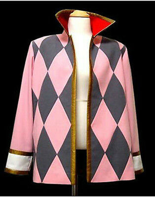 Anime New Howl's Moving Castle Hauru Jacket Coat Cosplay Costume