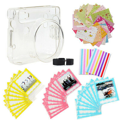 7 in 1 Accessories for Instax Square SQ6 Camera Protective Case Strap Sticker