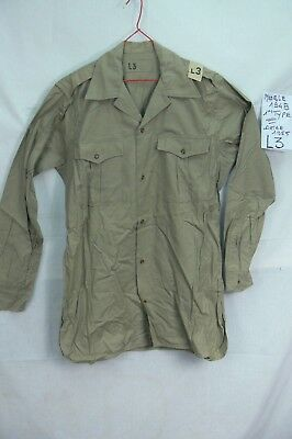 1955 SCOUT, INDOCHINE, CHEMISE Modèle 1948 SABLE Taille L3 Type1  FRENCH SHIRT L
