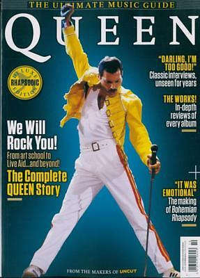 Queen Freddie Mercury Uncut Ultimate Music Guide Collectors Edition UK MAGAZINE