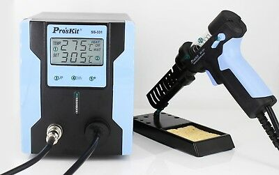 SS-331H Digital Desoldering Suction Electric Desoldering Iron Gun Sucker 220V