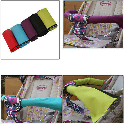 New Baby Pushchair Stroller Pram Cover Bumper Handle Bar Cover Oxford Fabric UK