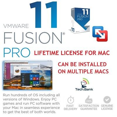 VMware Fusion 11 Pro ⭐LIFETIME LICENSE KEY⭐OFFICIAL FULL VERSION⭐FAST DELIVERY!⭐