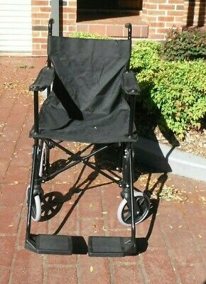 WHEELCHAIR,New attendant propelled Equipmed Wheel Chair,  Foldable, never used,