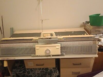 Brother bulky kh 260 knitting machine and kr260 ribber