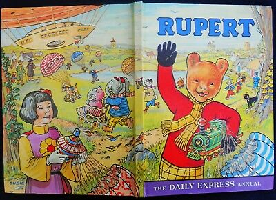 SUPERB 1976 ORIGINAL RUPERT BEAR ANNUAL, PRICE UNCLIPPED and UNSCRIBED