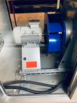 Ziehl Abegg Plug Fan Centrifugal Exhaust 400v 3 ph high power AHU Kitchens Dust