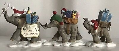 "Tuskers & Henry Extremely Rare  Ltd Ed  Slight Damage - "" Christmas Parade """