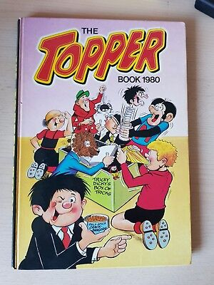 The Topper 1980  Vintage Annual Comic Hardback fine condition see photos plz