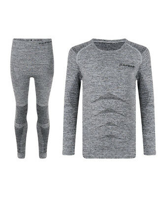 Dare 2b Kids Zonal Base Layer Set - Charcoal Grey - 2018