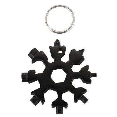 Multi-tool card combination Compact portable outdoor products Snowflake too D5V4