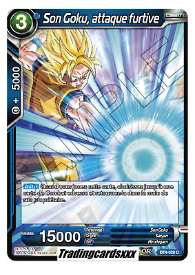 ♦Dragon Ball Super♦ Son Goku, attaque furtive : BT4-026 C -VF-