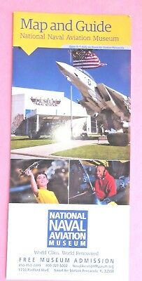 National Naval Aviation Museum ~ Map and Guide