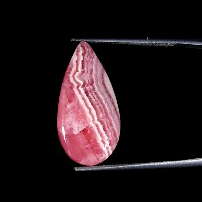 17.00Cts 100% Natural Rhodochrosite Pear Cabochon Loose Gemstone