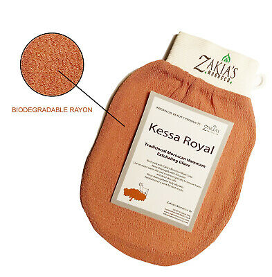 Zakia's Original Moroccan Kessa Exfoliating Glove - BUY 2 GET 1 EXTRA FOR FREE