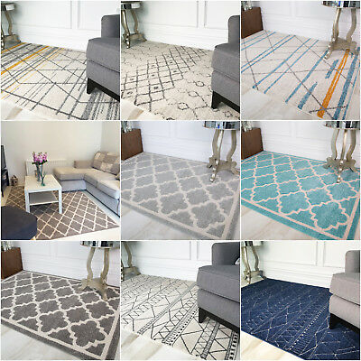 Moroccan Grey Trellis Living Room Rugs Soft Pinterest Geometric Area Rug Cheap