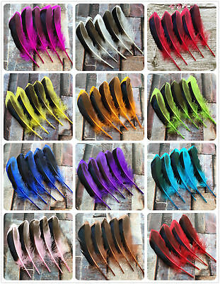 Wholesale 20-100pcs Pretty Natural Mallard Feather 4-6inches/10-15cm Decoration