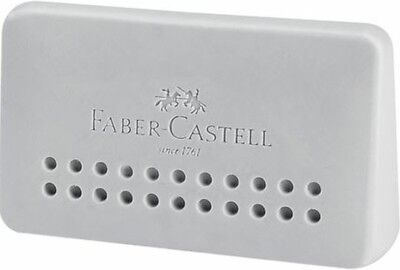 Faber-Castell Eraser Grip 2001 Edge | Triangular Eraser | Grey