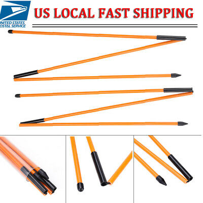 Portable Golf Alignment Sticks Rods Putting Ball Striking Aid Tour Outdoor US