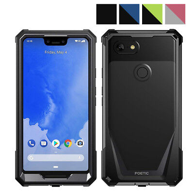 "Poetic Guardian Series ""Rugged Heavy Duty"" Case For Google Pixel 3 XL 4Colors"