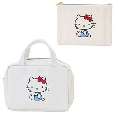 Hello Kitty Pouch In Pouch Simple Design Series Japan New Best Price F/S