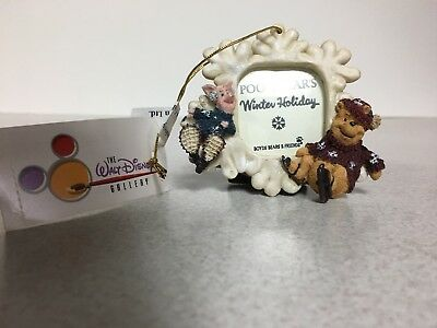 Walt Disney Winnie the Pooh Frame Ornament or Stand by Boyds Bears MINT