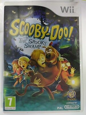 Scooby Doo And The Spooky Swamp Nintendo Wii 2010 European
