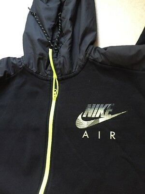 SWEAT À CAPUCHE HOODIE Nike Air Black yellow Fluo T. Xxxl 3Xl - EUR ... 575e576c9095