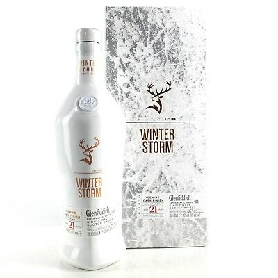 Glenfiddich 21 Years Old Winter Storm Limited Edition Single Malt Scotch Whisky