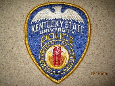 Kentucky State University Police Dept patch KY campus safety security college
