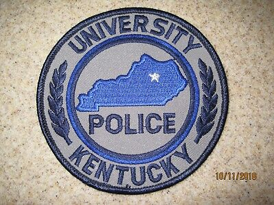University of Kentucky Police Dept patch KY campus safety security college