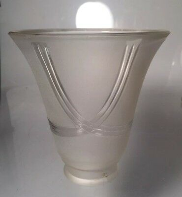 Vintage Art Deco Frosted Glass Lamp Shade Sconce Chandelier Shades Nouveau