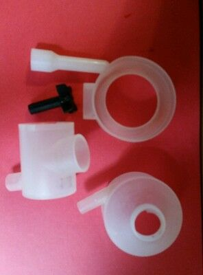 CECILWARE CAPPUCCINO MACHINE SLANTED WHIPPING CHAMBER DISPENSE  5 Pieces CD362