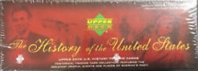"""""""complete Factory Sealed 300 Card Set"""" Upper Deck History Of The United States"""